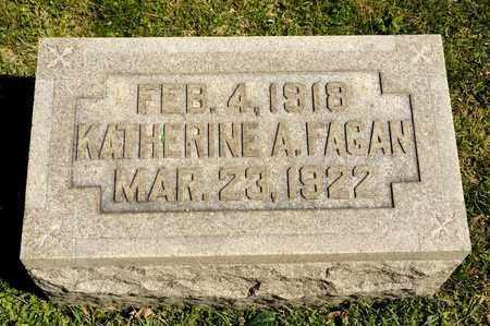 FAGAN, KATHERINE A - Richland County, Ohio | KATHERINE A FAGAN - Ohio Gravestone Photos