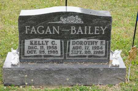 BAILEY, DOROTHY E - Richland County, Ohio | DOROTHY E BAILEY - Ohio Gravestone Photos