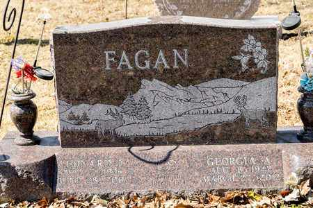 FAGAN, GEORGIA A - Richland County, Ohio | GEORGIA A FAGAN - Ohio Gravestone Photos