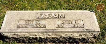 FAGAN, ROY A - Richland County, Ohio   ROY A FAGAN - Ohio Gravestone Photos