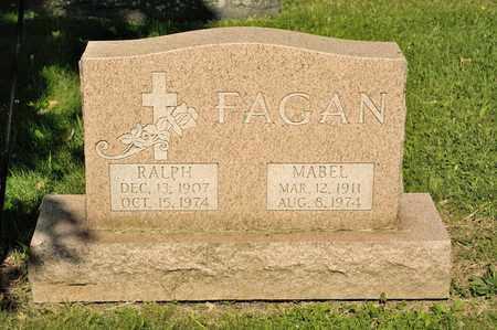 FAGAN, MABEL - Richland County, Ohio   MABEL FAGAN - Ohio Gravestone Photos
