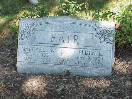 FAIR, ELDEN L. - Richland County, Ohio | ELDEN L. FAIR - Ohio Gravestone Photos