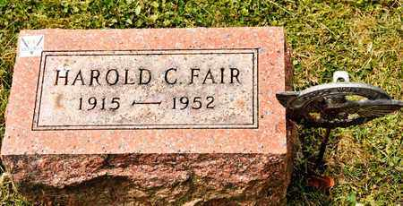 FAIR, HAROLD C - Richland County, Ohio | HAROLD C FAIR - Ohio Gravestone Photos