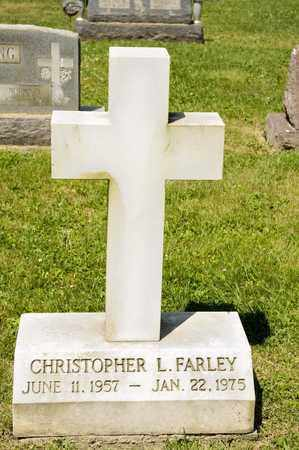 FARLEY, CHRISTOPHER L - Richland County, Ohio | CHRISTOPHER L FARLEY - Ohio Gravestone Photos