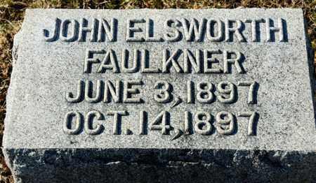 FAULKNER, JOHN ELSWORTH - Richland County, Ohio   JOHN ELSWORTH FAULKNER - Ohio Gravestone Photos