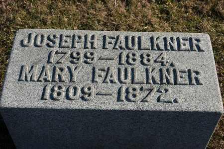 FAULKNER, JOSEPH - Richland County, Ohio | JOSEPH FAULKNER - Ohio Gravestone Photos