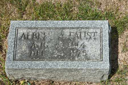 FAUST, ALBERT A - Richland County, Ohio | ALBERT A FAUST - Ohio Gravestone Photos