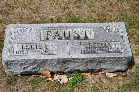 FAUST, LOUIS V - Richland County, Ohio | LOUIS V FAUST - Ohio Gravestone Photos