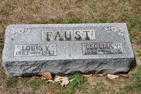 FAUST, CECELIA V - Richland County, Ohio | CECELIA V FAUST - Ohio Gravestone Photos