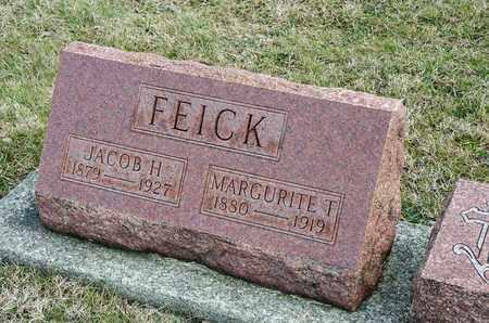 FEICK, MARGURITE T - Richland County, Ohio | MARGURITE T FEICK - Ohio Gravestone Photos