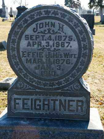 FEIGHTNER, JOHN H - Richland County, Ohio | JOHN H FEIGHTNER - Ohio Gravestone Photos