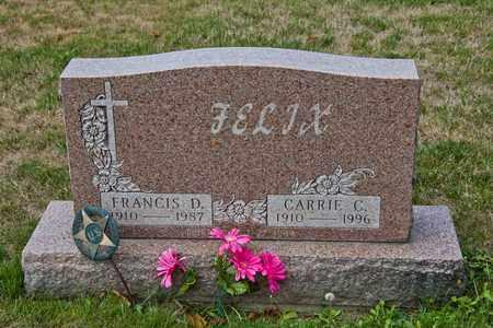 FELIX, CARRIE C - Richland County, Ohio   CARRIE C FELIX - Ohio Gravestone Photos
