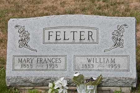 FELTER, MARY FRANCES - Richland County, Ohio | MARY FRANCES FELTER - Ohio Gravestone Photos
