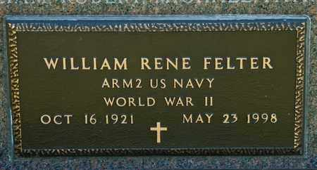 FELTER, WILLIAM RENE - Richland County, Ohio | WILLIAM RENE FELTER - Ohio Gravestone Photos