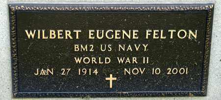 FELTON, WILBERT EUGENE - Richland County, Ohio | WILBERT EUGENE FELTON - Ohio Gravestone Photos