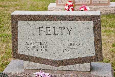 FELTY, WALTER V - Richland County, Ohio | WALTER V FELTY - Ohio Gravestone Photos