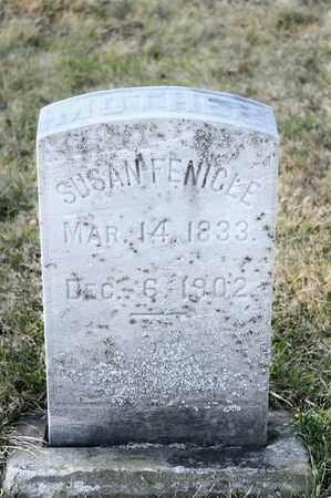 FENICLE, SUSAN - Richland County, Ohio | SUSAN FENICLE - Ohio Gravestone Photos