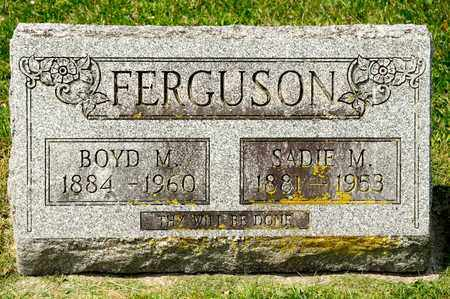 FERGUSON, SADIE M - Richland County, Ohio | SADIE M FERGUSON - Ohio Gravestone Photos