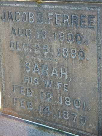 FERREE, JACOB B - Richland County, Ohio | JACOB B FERREE - Ohio Gravestone Photos