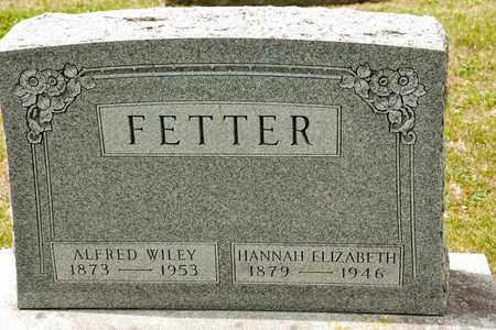 FETTER, ALFRED WILEY - Richland County, Ohio | ALFRED WILEY FETTER - Ohio Gravestone Photos