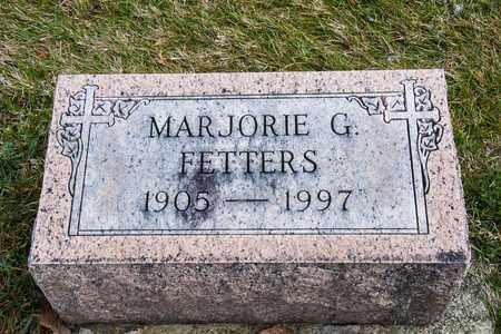 FETTERS, MARJORIE G - Richland County, Ohio   MARJORIE G FETTERS - Ohio Gravestone Photos