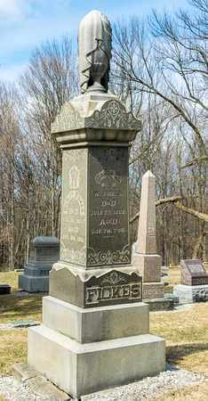 FICKES, WESLEY - Richland County, Ohio | WESLEY FICKES - Ohio Gravestone Photos