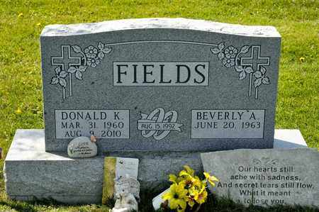 FIELDS, DONALD K - Richland County, Ohio | DONALD K FIELDS - Ohio Gravestone Photos