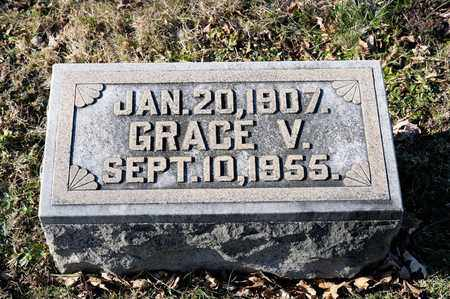 FINICAL, GRACE V - Richland County, Ohio   GRACE V FINICAL - Ohio Gravestone Photos