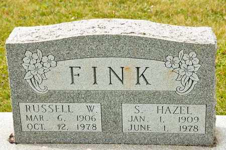 FINK, S HAZEL - Richland County, Ohio   S HAZEL FINK - Ohio Gravestone Photos