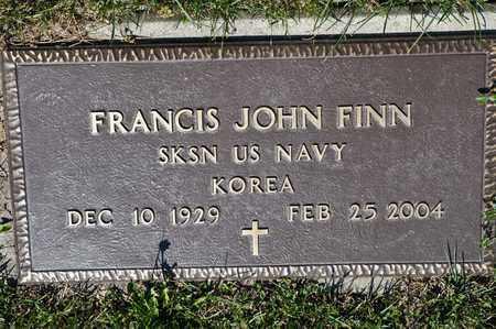FINN, FRANCIS JOHN - Richland County, Ohio | FRANCIS JOHN FINN - Ohio Gravestone Photos