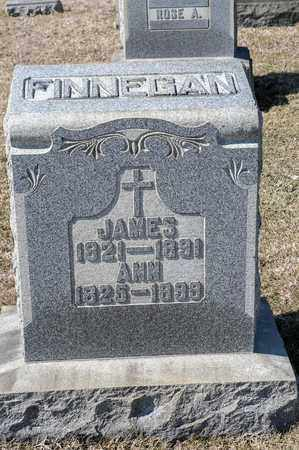 FINNEGAN, JAMES - Richland County, Ohio | JAMES FINNEGAN - Ohio Gravestone Photos