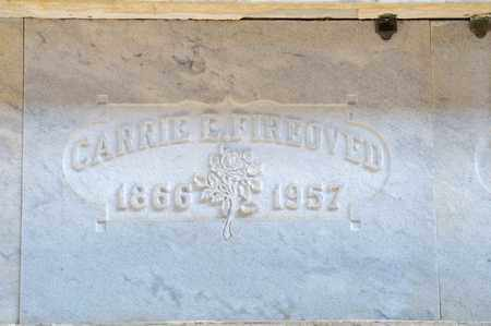 FIREOVED, CARRIE E - Richland County, Ohio   CARRIE E FIREOVED - Ohio Gravestone Photos