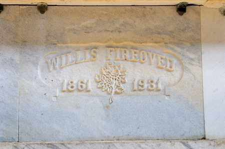 FIREOVED, WILLIS - Richland County, Ohio | WILLIS FIREOVED - Ohio Gravestone Photos