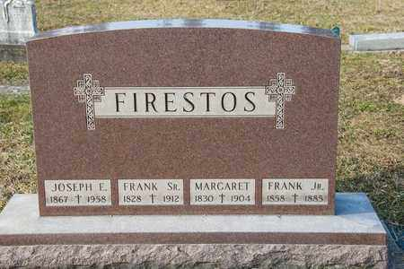 FIRESTOS JR, FRANK - Richland County, Ohio | FRANK FIRESTOS JR - Ohio Gravestone Photos