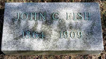 FISH, JOHN C - Richland County, Ohio | JOHN C FISH - Ohio Gravestone Photos