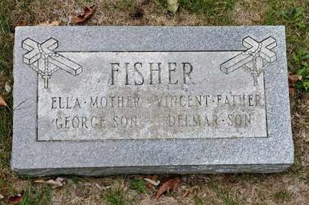 FISHER, ELLA - Richland County, Ohio | ELLA FISHER - Ohio Gravestone Photos
