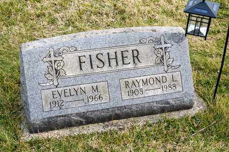 FISHER, EVELYN M - Richland County, Ohio | EVELYN M FISHER - Ohio Gravestone Photos