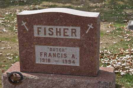 FISHER, FRANCIS A - Richland County, Ohio | FRANCIS A FISHER - Ohio Gravestone Photos