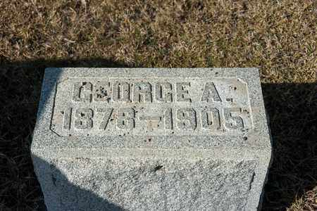 FISHER, GEORGE A - Richland County, Ohio   GEORGE A FISHER - Ohio Gravestone Photos