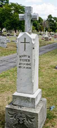FISHER, MARY M - Richland County, Ohio | MARY M FISHER - Ohio Gravestone Photos