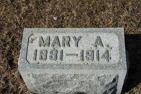FISHER, MARY A - Richland County, Ohio | MARY A FISHER - Ohio Gravestone Photos