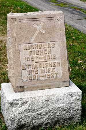 FISHER, ETTA - Richland County, Ohio | ETTA FISHER - Ohio Gravestone Photos