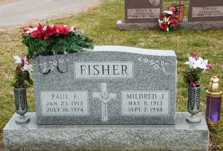 FISHER, MILDRED J - Richland County, Ohio | MILDRED J FISHER - Ohio Gravestone Photos
