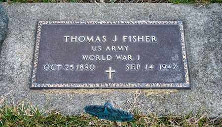 FISHER, THOMAS J - Richland County, Ohio | THOMAS J FISHER - Ohio Gravestone Photos