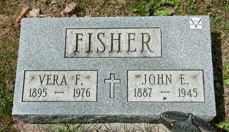 FISHER, JOHN E - Richland County, Ohio | JOHN E FISHER - Ohio Gravestone Photos