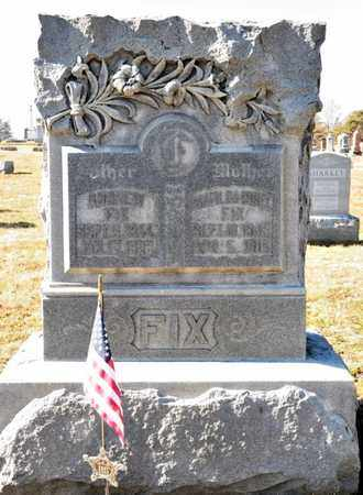 FIX, ANDREW - Richland County, Ohio | ANDREW FIX - Ohio Gravestone Photos