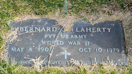FLAHERTY, BERNARD J - Richland County, Ohio | BERNARD J FLAHERTY - Ohio Gravestone Photos
