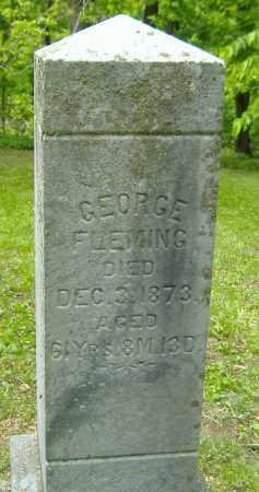 FLEMING, GEORGE - Richland County, Ohio | GEORGE FLEMING - Ohio Gravestone Photos