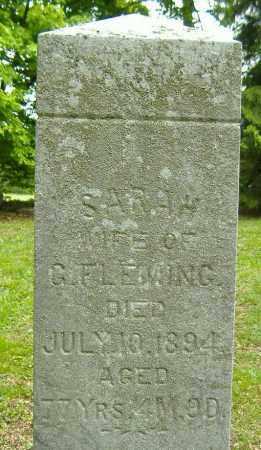 FLEMING, SARAH - Richland County, Ohio | SARAH FLEMING - Ohio Gravestone Photos