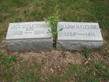 FLETCHER, DICK W. - Richland County, Ohio | DICK W. FLETCHER - Ohio Gravestone Photos